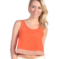 BB Dakota Aldis Top Orange - Zappos.com Free Shipping BOTH Ways