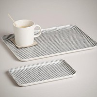 Fog Linen Linen Tray Set (The Monocle Shop)