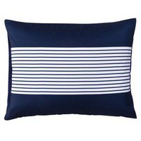 Room Essentials® Stripe Sham - Blue (Standard)