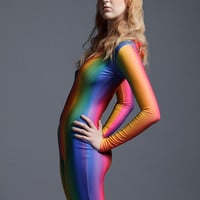 Special Edition Ombre Rainbow Bodysuit
