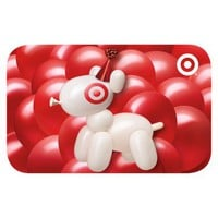Bullseye Birthday Balloon Gift Card