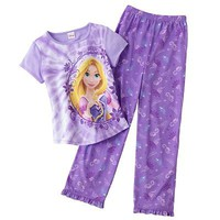 Disney Princess Rapunzel Tie-Dye Pajama Set - Girls