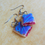 polymer clay wild berry pop tart earrings by ScrumptiousDoodle
