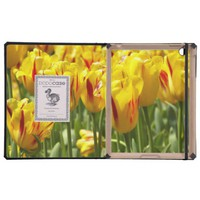 Yellow Tulips iPad Case from Zazzle.com