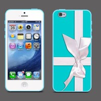 Tiffany Blue Box Design Hard Plastic iPhone 4 /4Scase:Amazon:Everything Else