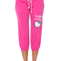 Hello Kitty Intimates Capri Blissful Moment Pink
