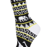 Yellow Fairisle Ankle Socks - Tights & Socks - Bags & Accessories - Topshop USA