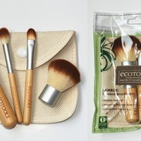EcoTools BAMBOO Makeup Brush Set 5pcs Make Up Brushes