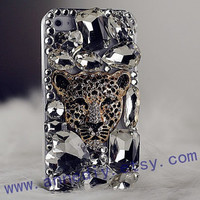 leopard iphone 4s case,gems iphone 4 cover case, crystal iphone 5 case,samsung galaxy s3 case,samsung i9300 case