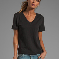 rag & bone/JEAN Jackson V Tee in Black from REVOLVEclothing.com