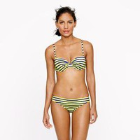 Double-stripe underwire top - swim - Women - J.Crew