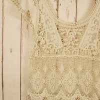 Retro Crochet Top - Retro, Indie and Unique Fashion