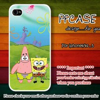 Spongebob and Partrick Star Best friend forever : For Iphone 4/4s,5