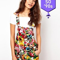 Joyrich Blossom Pinafore Dress at asos.com