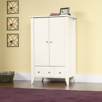 Walmart: Sauder Shoal Creek Armoire, Soft White