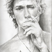 Alex Pettyfer Art Print by AliArt
