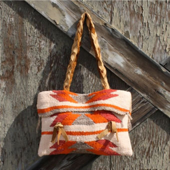Brimstone Salvaged Native Inspired Tote, Vintage Bags &amp; Totes