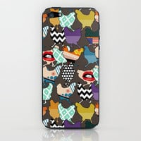 Cincinnati Chickens iPhone & iPod Skin by Sharon Turner