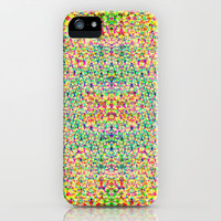 Mesh Circle iPhone & iPod Case by Glanoramay