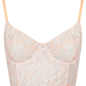Fluro Corded Lace Bralet - New In This Week - New In - Topshop USA