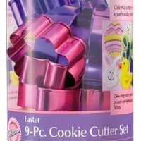 Wilton Easter 9pc Color And Cookie Cutter Set:Amazon:Kitchen & Dining