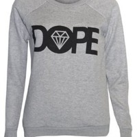 Womens Dope Sweater Jumper Top:Amazon:Clothing