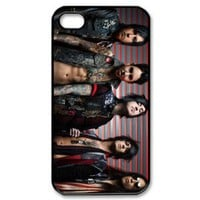 escape the fate Snap-on Hard Case Cover Skin compatible with Apple iPhone 4 4S 4G