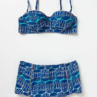 Anthropologie - Monica Nador Drumbeat Bikini Top