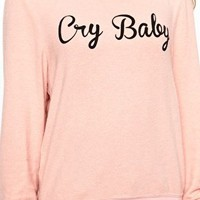 Wildfox Cry Baby Jumper at asos.com