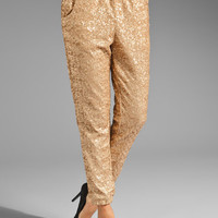 Free People Sequin Party Pant in Champagne from REVOLVEclothing.com