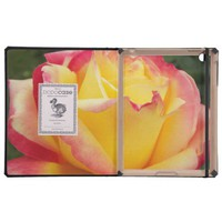 Pink and Yellow Rose iPad Case from Zazzle.com