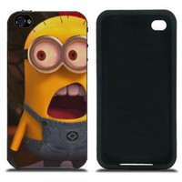 Despicable me Cases Covers for iPhone 4 4S Series IMCA-CP-1032: Amazon.co.uk: Electronics