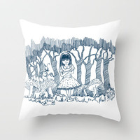 Alice Throw Pillow by sedacivan