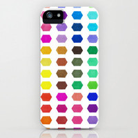 iPhone 5 Case - Hexatone - unique iPhone case, art iPhone case, hipster iphone case, iphone 5 case