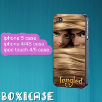 Tangled---iphone 4 case,iphone 5 case,ipod touch 4 case,ipod touch 5 case,in plastic,silicone and black,white.