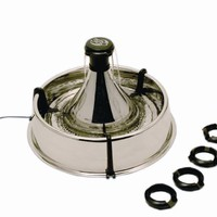 Drinkwell 360 Pet Fountain, Stainless Steel:Amazon:Pet Supplies