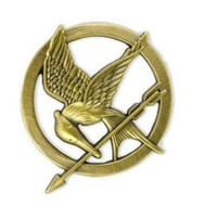 Katniss's Mockingjay Pin  by jasminerosa1