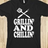 Grillin' and Chillin' - Echo Shirts - Skreened T-shirts, Organic Shirts, Hoodies, Kids Tees, Baby One-Pieces and Tote Bags