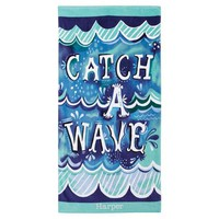 Catch A Wave Beach Towel
