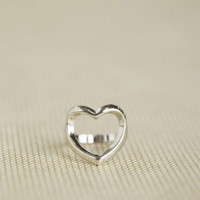 Rosalie Heart Ring at ShopRuche.com