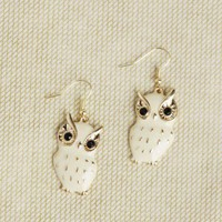 Barn Owl Earrings at ShopRuche.com