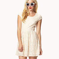 Cutout Back Lace Dress | FOREVER 21 - 2035633066