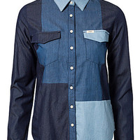 Patchwork Shirt, Lee Jeans