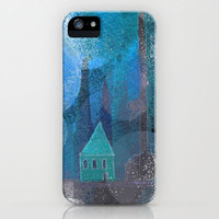 little house iPhone & iPod Case by Marianna Tankelevich