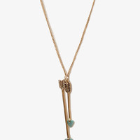 Lacquered Arrow Charm Necklace | FOREVER 21 - 1045826741