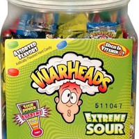 Warheads Extreme Sour Hard Candy (Pack of 240):Amazon:Grocery & Gourmet Food