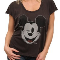Mickey Mouse Vintage The Jetsetter Oversized Boxy Tee -  - Junk Food Clothing