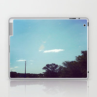 Beach Sky Laptop & iPad Skin by Rhiannon