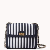 Railroad Striped Crossbody