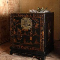 Antique Storage Trunk?-?Horchow